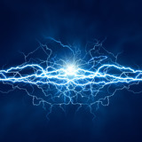 Fototapety Electric lighting effect, abstract techno backgrounds for your d