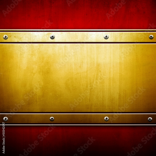 vivid metal template - 50342047
