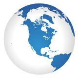 Globus Amerika