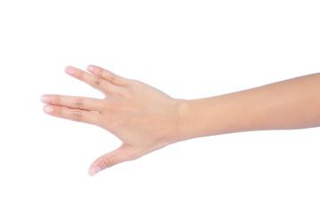 Image of female hand