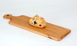 Scone on cutting board