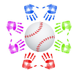 Baseball community concept