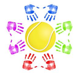 Tennis community concept