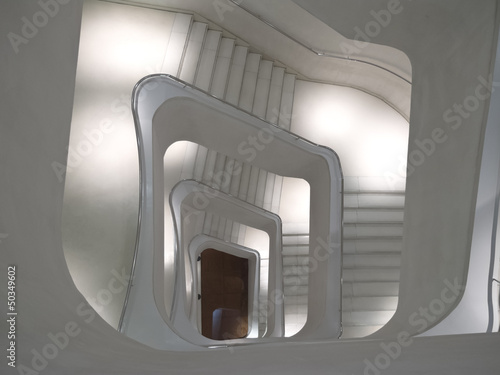 Stairs and modern design