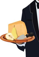formaggio con pera