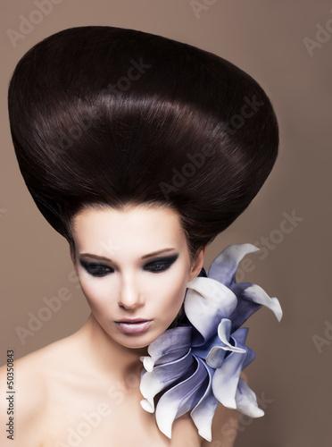 Fototapeten,haare,hairstyle,hairstyle,blume