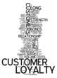 "Word Cloud ""Customer Loyalty"""