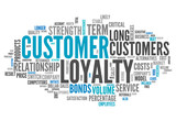 "Word Cloud ""Customer Loyalty"""