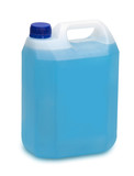 gallon of blue detergent