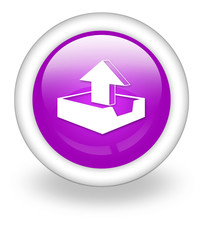 "Violet Icon ""Upload"""