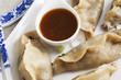 Pot Stickers and Sauce