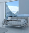 Exclusive Modern Design Bedroom with sea view