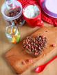 Chocolate baking cookies and hazel