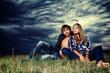 wheat couple