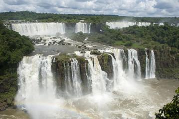 Iguassu Falls Argentina from Brazil