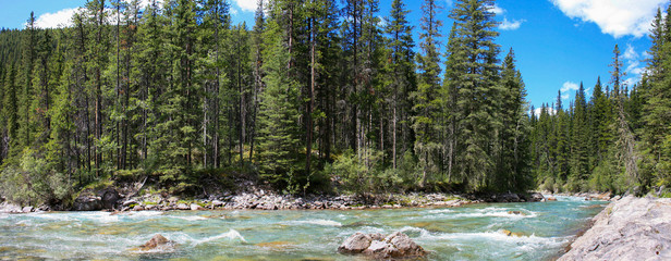 Riviere sauvage région Banff
