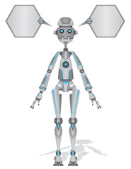 Shiny robot