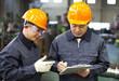 Two industrial engineer