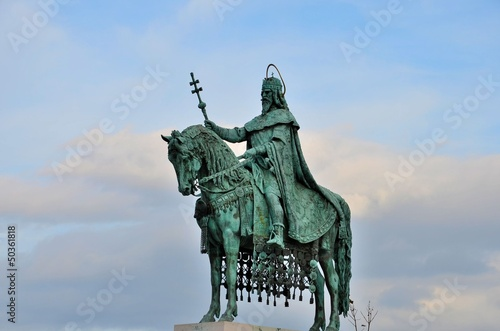 Statue of St Stephen Hungary King