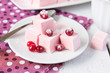 Homemade marshmallow with cranberries