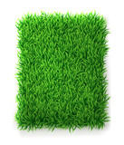 Rectangle grass background