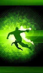 Handball shot