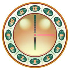 Futuristic Steampunk Locket Time Piece