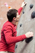 rock climbing indoors
