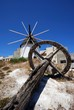 Grinding wheel and windmill, Andalusia © Arena Photo UK