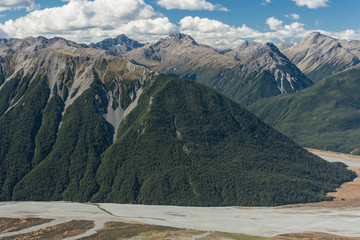 mountain ranges in Arthur's Pass National Park