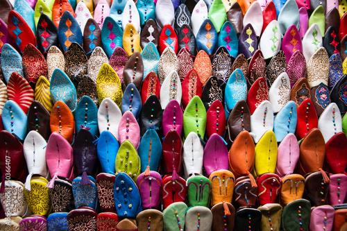 Fotobehang Marokko Oriental shoes