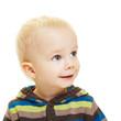 Lächelndes glückliches Kleinkind