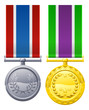 Military style decorations