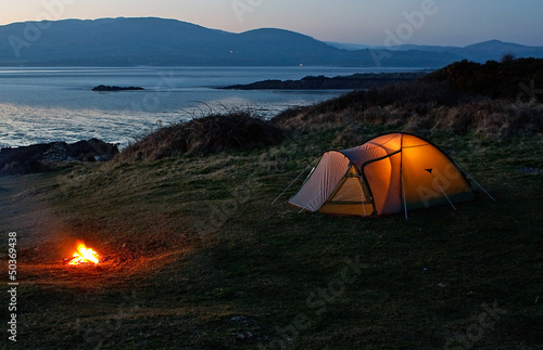 Tent near the beach - 50369438