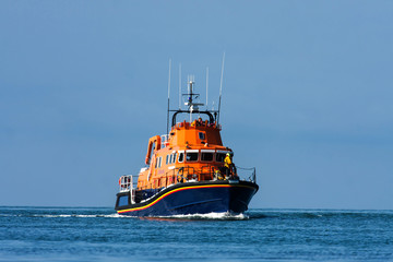 The Holyhead Offshore Lifeboat