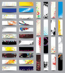 Mix Collection vertical and horizontal headers