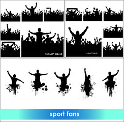Advertising banners for sports championships