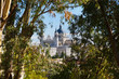 Royal Palace and the Almudena Cathedral - Madrid Spain