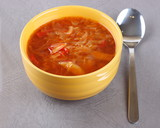 Russian national soup (borscht)