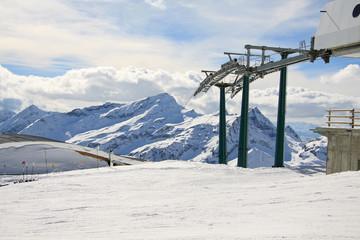 impianti di risalita e pista da sci