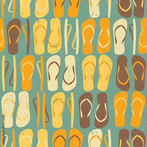 Seamless Flip flops Pattern