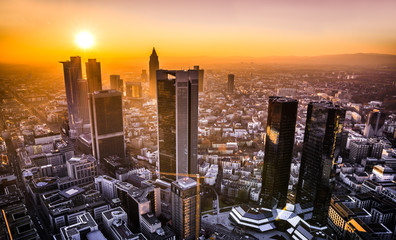 Frankfurt Main Panorama