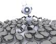 Robot in an Easter Egg