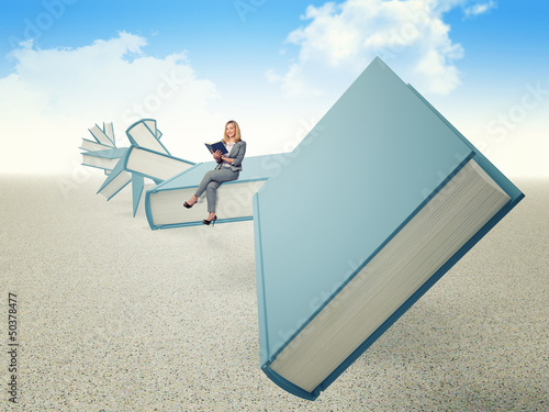 teacher on books