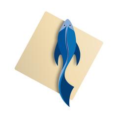 Vector Logo Fish