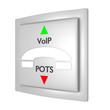 VoIP vs POTS_Kommunikation - 3D
