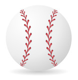 baseball ball vector illustration