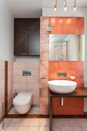 Spacious apartment - Modern bathroom