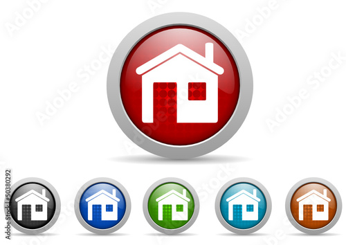 home vector icon set