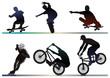 skaete, bike, inline artist